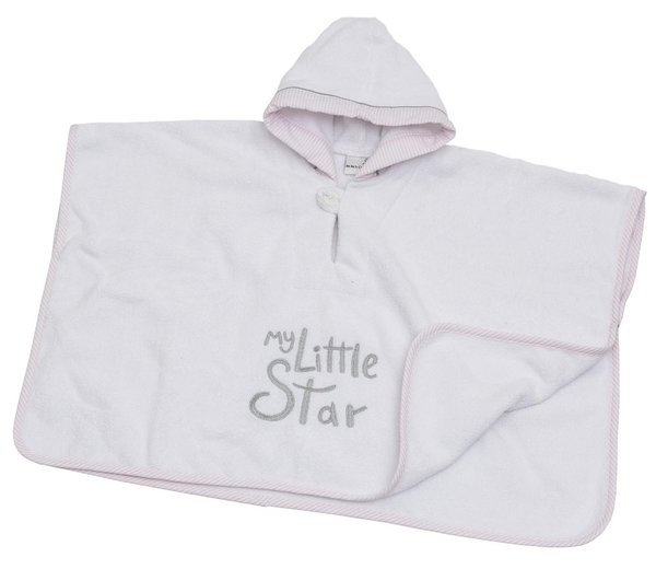 My little Star Poncho