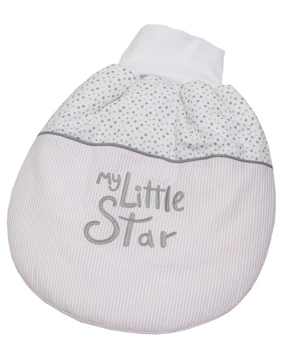 My little Star Strampelsack - wattiert 50 cm